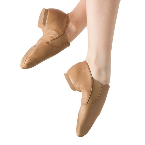 Bloch Elastaboot Jazz Shoes Child - Tan
