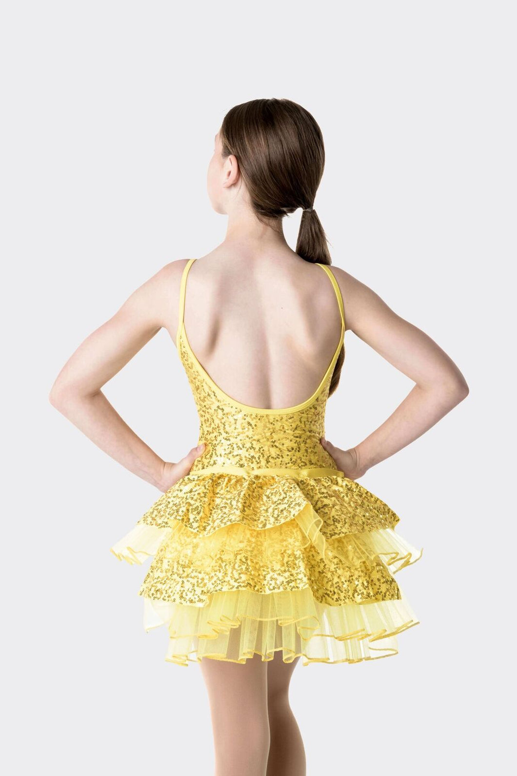 Studio 7 Stepping Out Detachable Bustle Child - Yellow