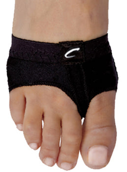 Capezio Foot Undies - Black