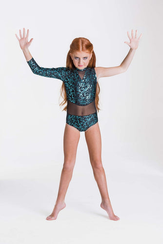 Studio 7 Wild Things Leotard Child - Emerald