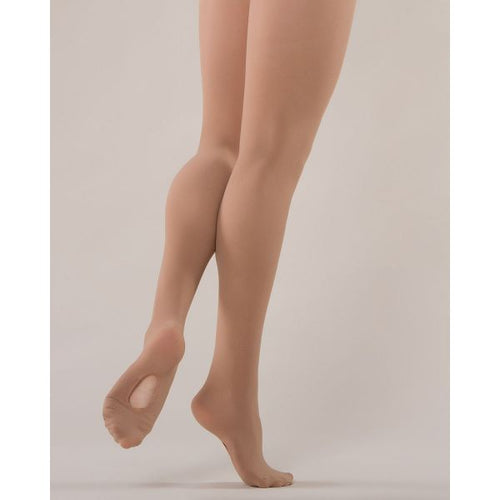 Energetiks Classic Dance Tights Convertible Adult - Skin