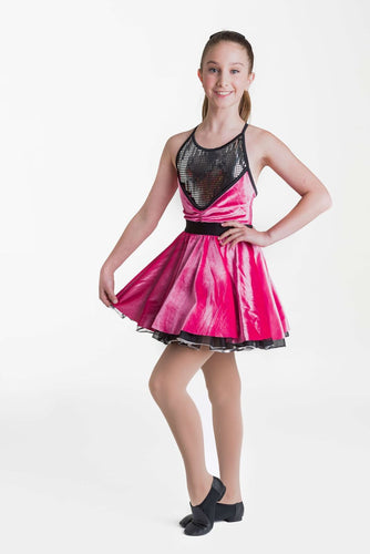 Studio 7 Rock and Roll Dress Child - Vintage Pink