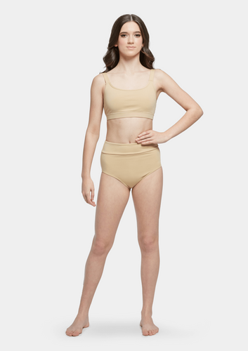 Studio 7 Performance Briefs Child - Cashew