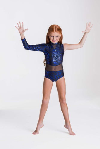 Studio 7 Wild Things Leotard Child - Royal Blue