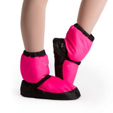Bloch Warmup Booties Child - Pink Fluro