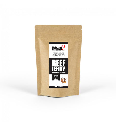Pepper Beef Jerky - 2oz - Resealable Bag