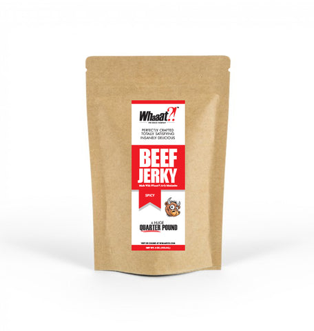 Spicy Beef Jerky - 4 oz (Quarter Pound)  - Resealable Bag
