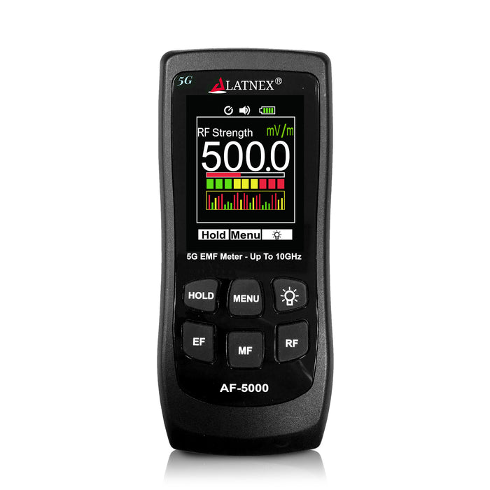 All-in-One 5G EMF Meter AF-5000 EMF Meter - LATNEX
