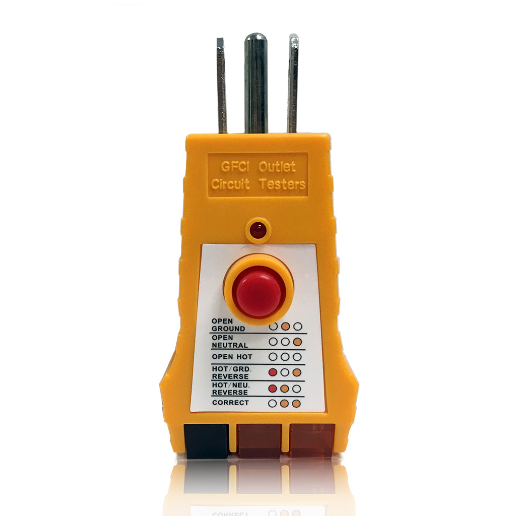 GFCI Outlet Circuit Tester for 125VAC Receptacles SK305