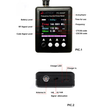 FC-3000P Portable Frequency Counter/ Ctcss Meter