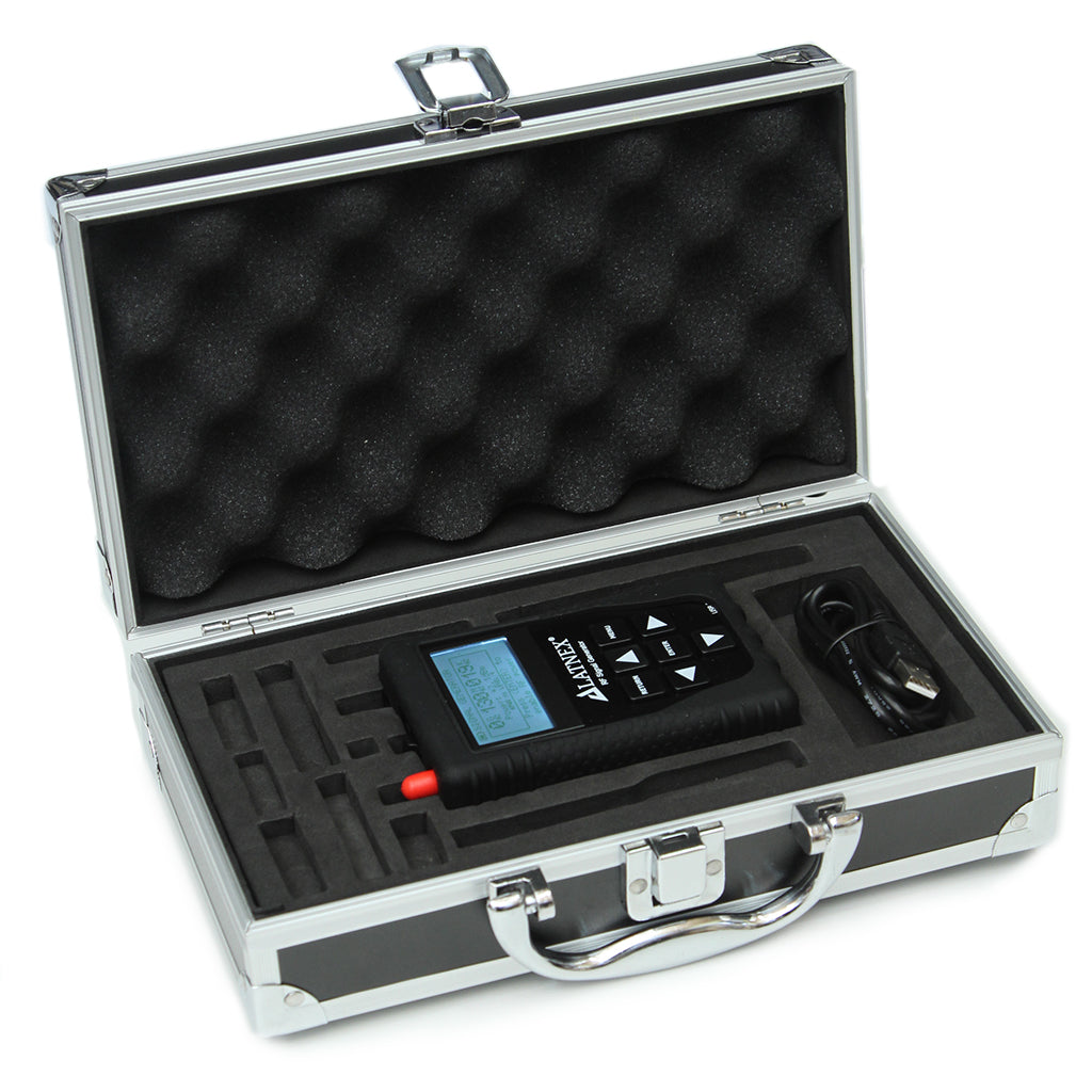 LATNEX RF Signal Generator RF-SG6 with Advanced Aluminium Case, Black Protection Boot & USB Cable(24 to 6000 MHz)