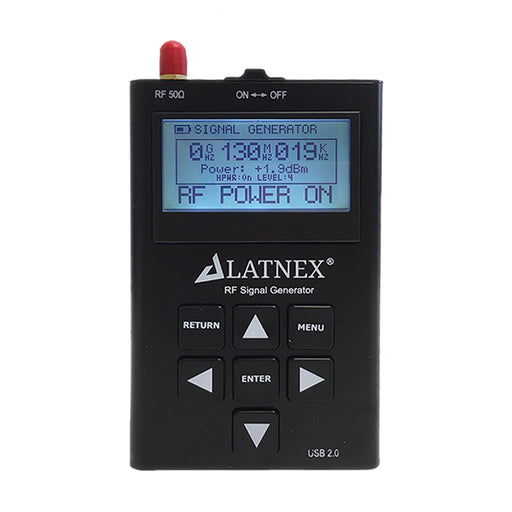 RF Signal Generator RF-SG6 (24 to 6000 MHz) Radio Equipment - LATNEX