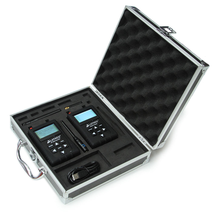 RF Spectrum Analyzer SPA-6G & RF Signal Generator RF-SG6 with Professional Aluminum Carrying Case Spectrum Analyzers - LATNEX