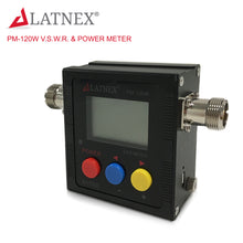 LATNEX PM-120W (SO239) V.S.W.R. & Power Meter