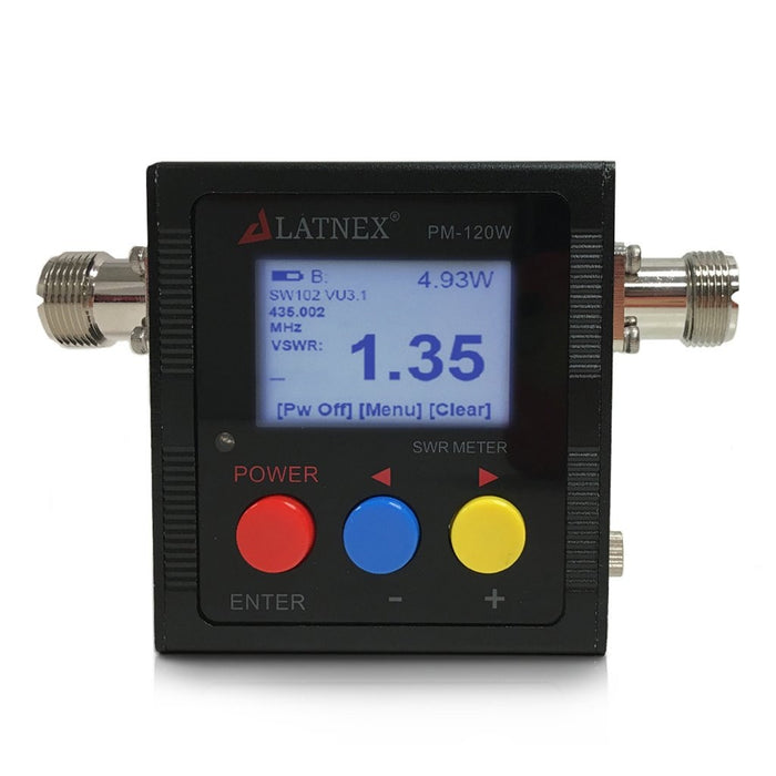 PM-120W (SO239) V.S.W.R. & Power Meter VSWR Meters - LATNEX