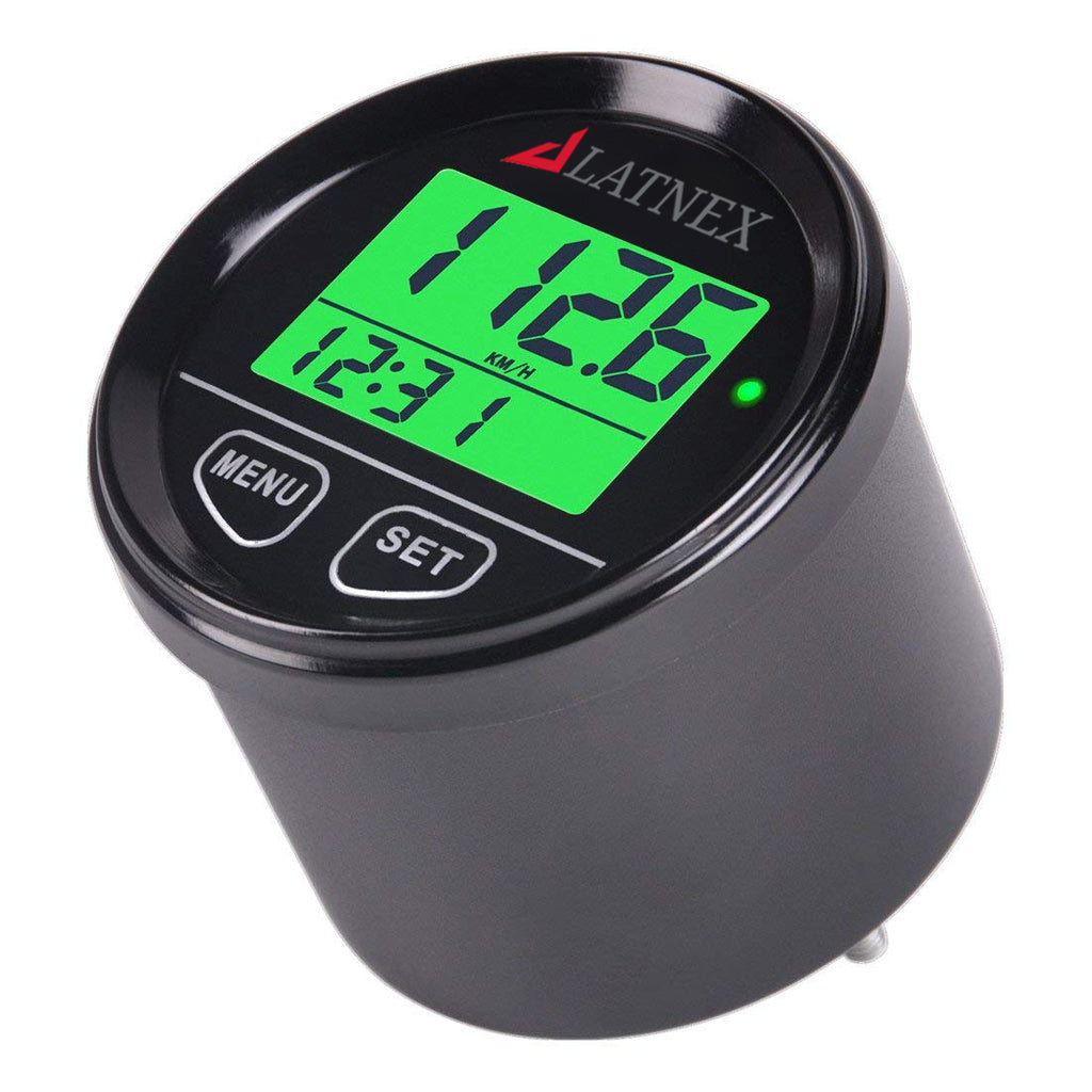 Black Digital GPS Speedometer