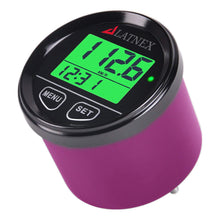 Purple Digital GPS Speedometer with 3 backlights-green/red/blue