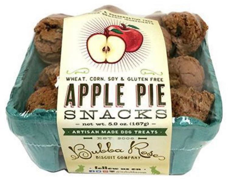 Bubba Rose Biscuit - Apple Pie Snacks Fruit Crate