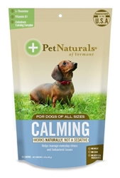 Pet Naturals® of Vermont Calming for Dogs (30 count)