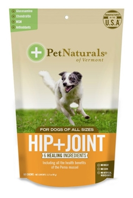 Pet Naturals® of Vermont Hip & Joint for Dogs (60 count)