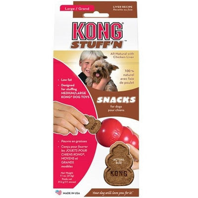 Kong® Stuff'N Liver Snacks, Large
