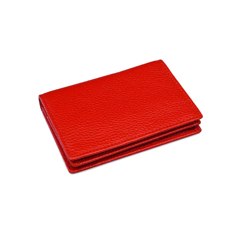 Leather Card Wallet - Eliza Bautista