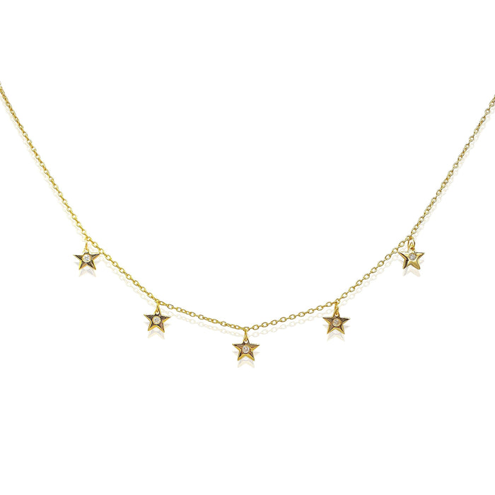 Star Charms Necklaces