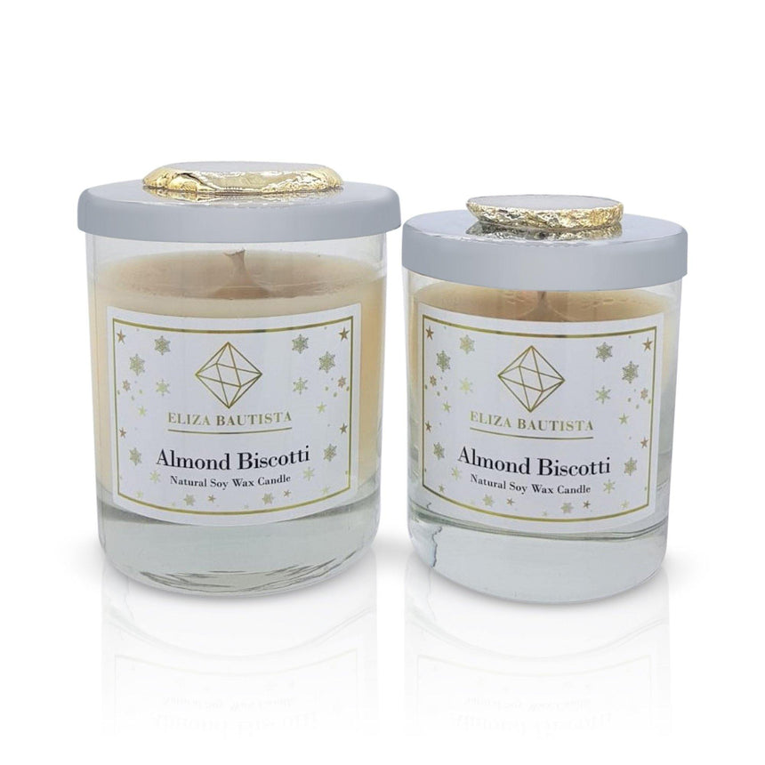 Almond Biscotti Soy Wax Candle - Eliza Bautista