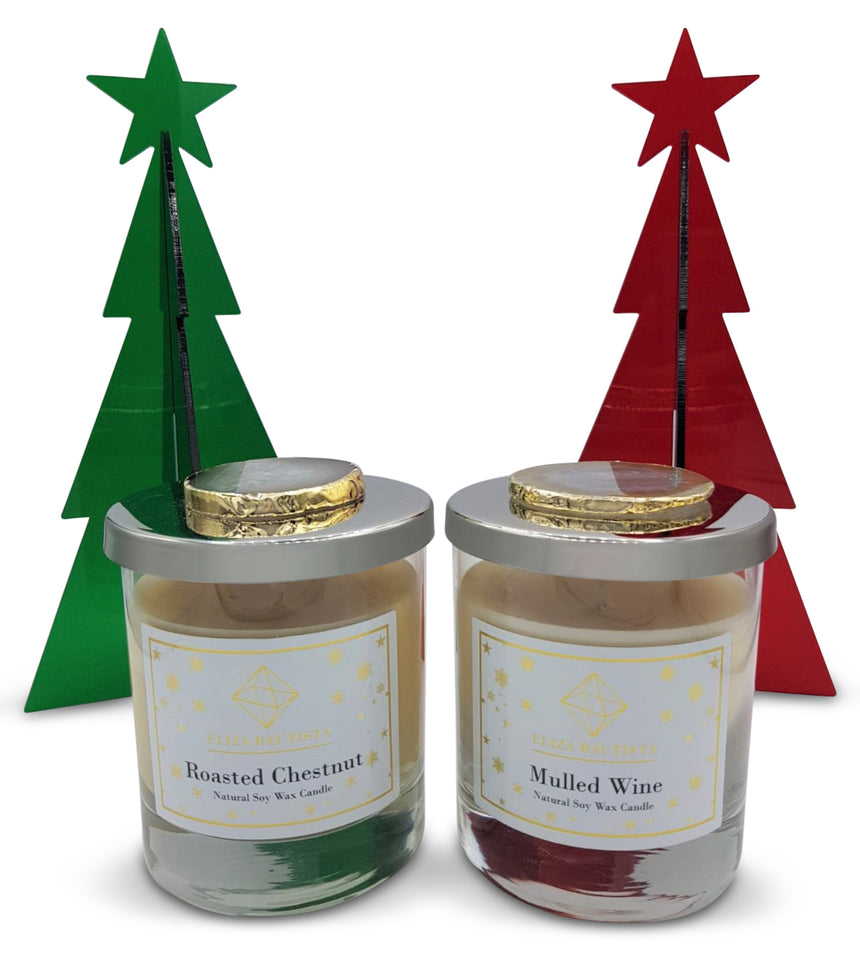 Mulled Wine Soy Wax Candle - Eliza Bautista