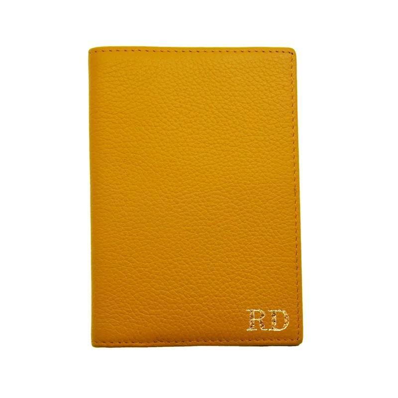 Leather Passport Holder - Eliza Bautista