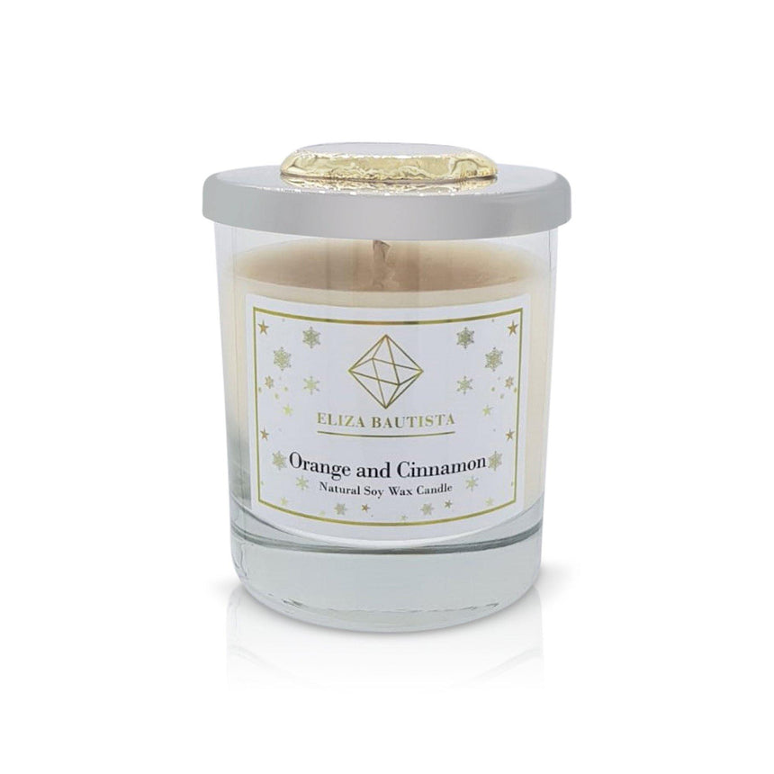 Roasted Chestnut Soy Wax Candle - Eliza Bautista
