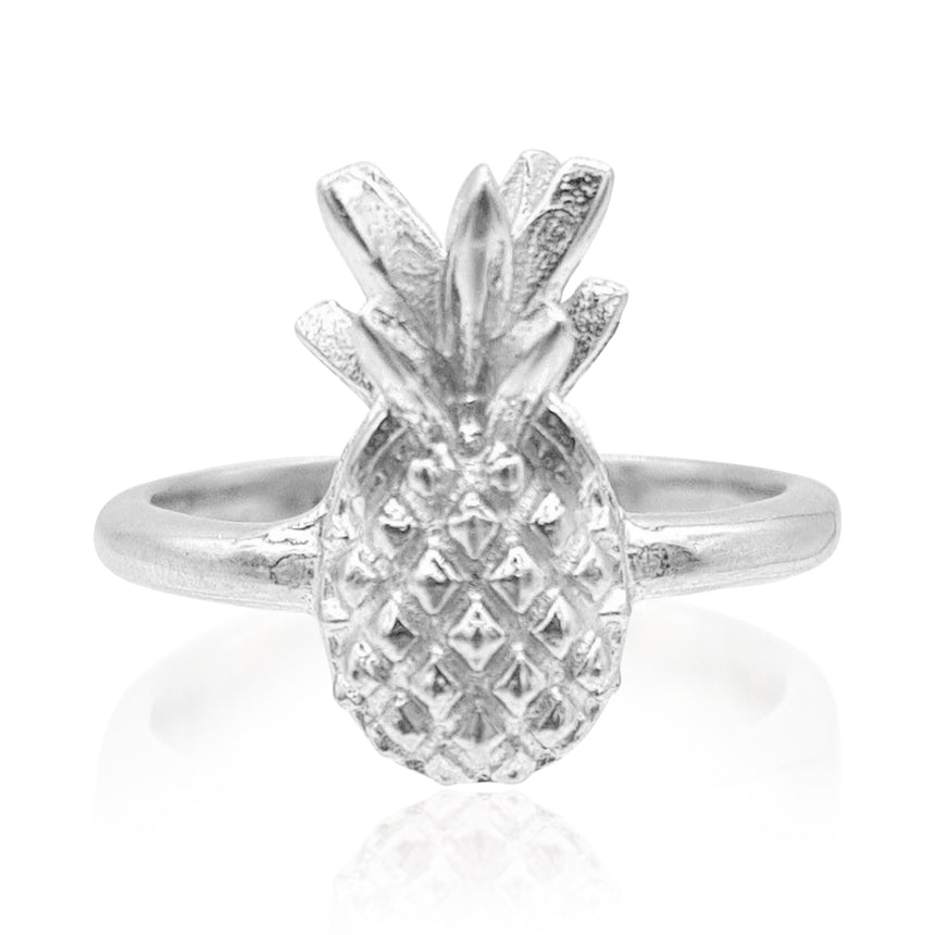 Pineapple Ring in Sterling Silver - Eliza Bautista