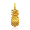 sterling silver rose gold vermeil 3d pineapple pendant necklace eliza bautista jewellery gifts for women