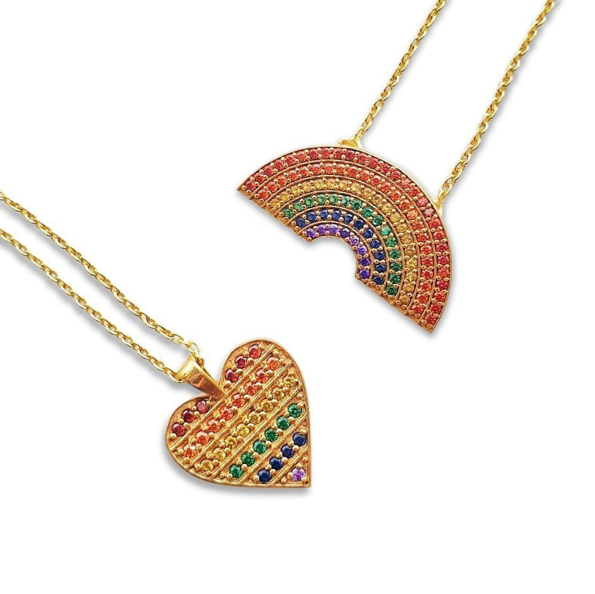 Rainbow Necklace for NHS Charities Together