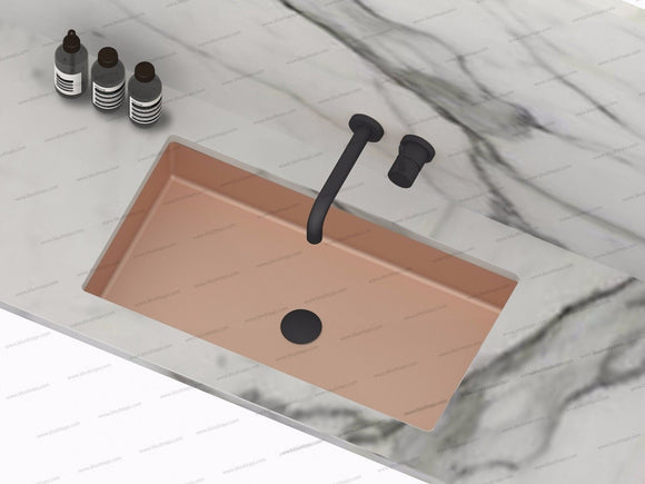 under mount burnished rose gold brass gold gunmetal black stainless steel basin