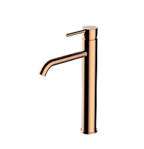 2020 rose gold Matt Black burnished gold high mixer tap faucet  slim long spout