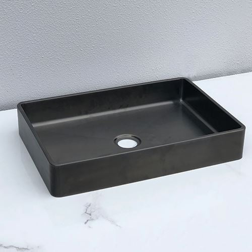 2020 New Burnished Gunmetal brass gold bench top mount basin sink