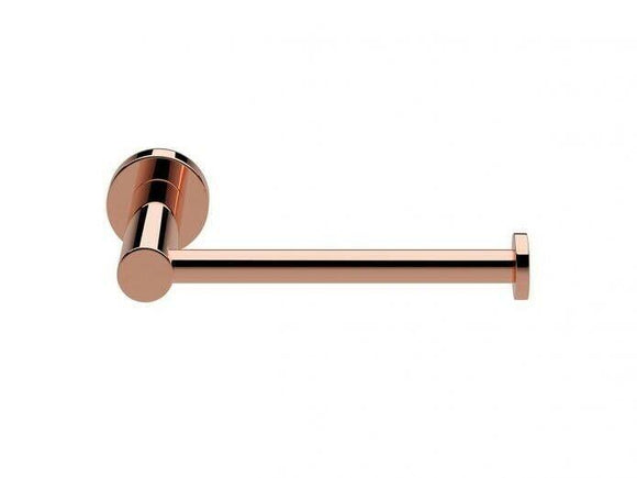 2020 Round New Toilet Roll Holder polished gloss rose gold copper Brass Made