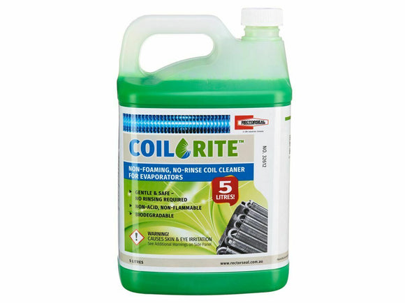 Rectorseal Coil-Rite NSF Approved Evaporator ABD Coil Cleaner 5Ltr. Aussie Made