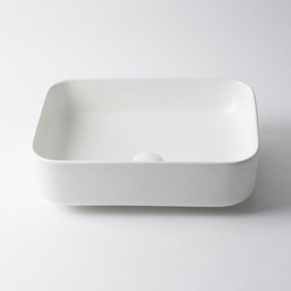 New porcelain white ceramic rectangle  500*390 mm Bowl Counter Top Basin Vanity SINK