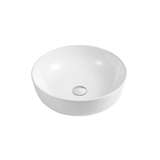New porcelain white ceramic Round 39cm Bowl Counter Top Basin Vanity SINK