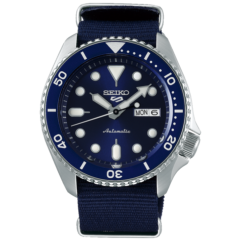 SEIKO 5 SPORTS AUTOMATIC WATCH IN BLUE SRPD51K2