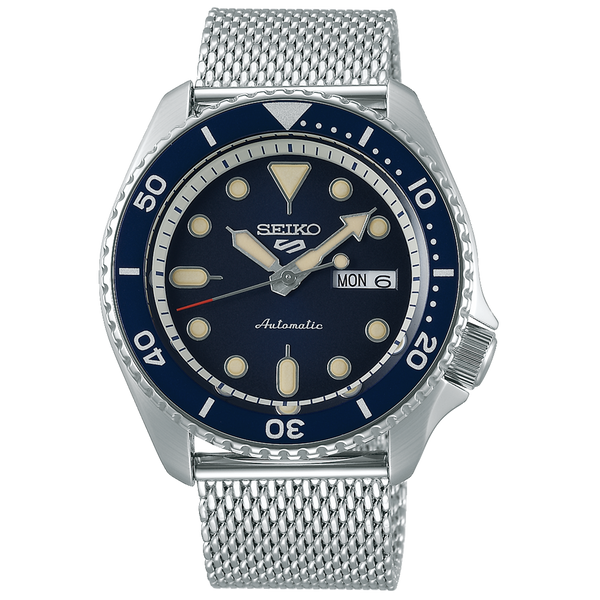 SEIKO 5 SPORTS AUTOMATIC WATCH IN BLUE DIAL SRPD71K1