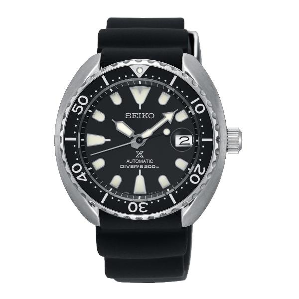 "(PRE ORDER JUNE 2018) SEIKO PROSPEX ""MINI TURTLE""AUTOMATIC DIVERS WITH BLACK DIAL SRPC37"