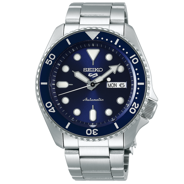 SEIKO 5 SPORTS AUTOMATIC WATCH IN BLUE DIAL SRPD51K1