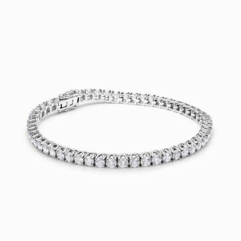 DIAMOND BRACELET IN 18KT WHITE GOLD