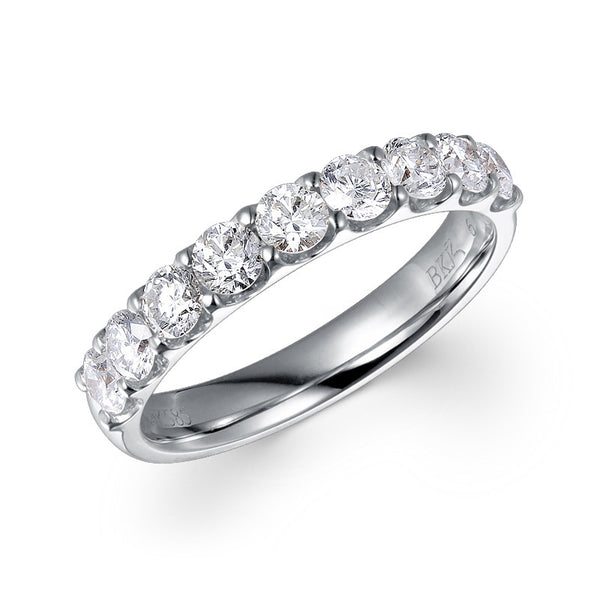 CLAW-SET PREMIUM DIAMOND RING IN 18K WHITE GOLD – 1.00CTS.TW