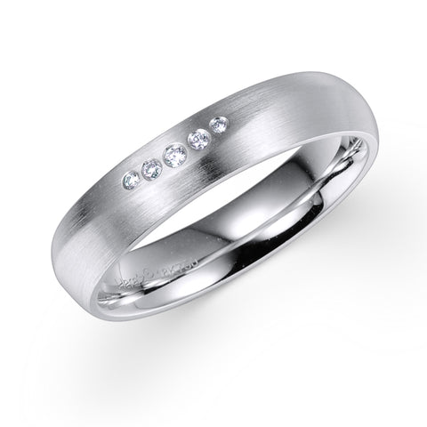 DIAMOND RING IN 18K WHITE GOLD – 0.03CTS