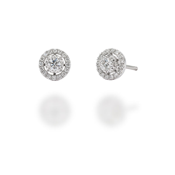 LMD BRILLIANCE FLARE DIAMOND EARRINGS