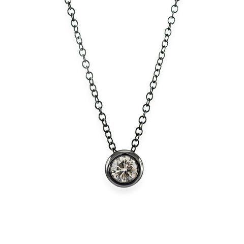 LMD CITYLIGHTS MOONLIGHT DIAMOND NECKLACE